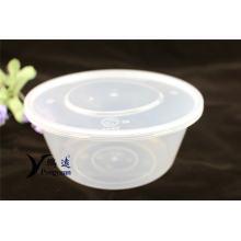 Caja de almacenamiento de plástico para embalaje 1750ml