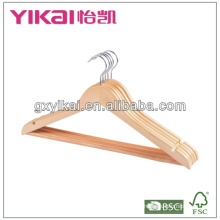 wooden clothes hanger with good quality and reasonable price