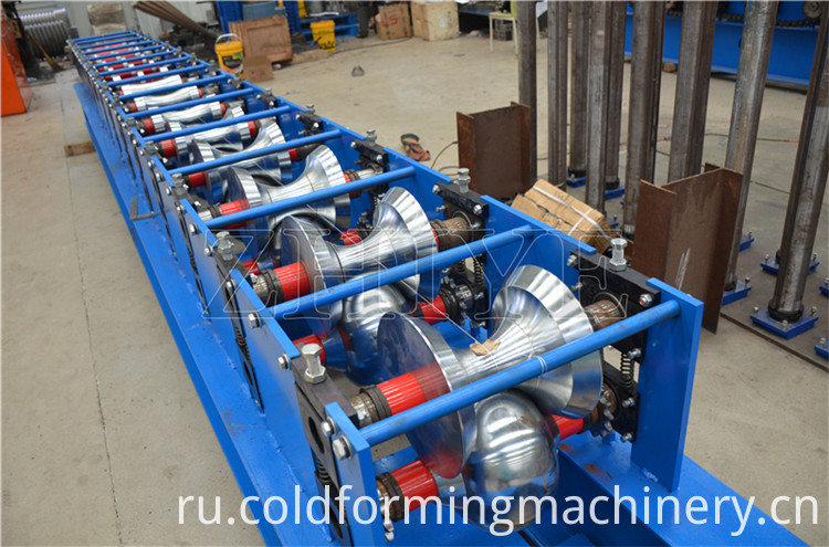 Roof Ridge Cap Forming Machine