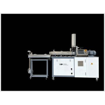 Extrusora de parafuso duplo em escala de laboratório para máquina de extrusão de alimentos Puff Snacks