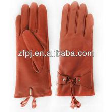 ZF0861 nouveau style top top porc suède gant de suède coloré