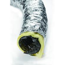 Manguera de conducto de aire acondicionado flexible de papel de aluminio