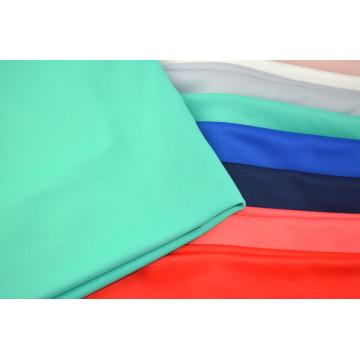 Knitting Scuba Fabric Polyester Solid Dye Lycra Fabric