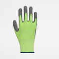 Polyester Smooth Finish Nitrile Coated Safety Gloves