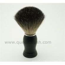 Hot Sale Silicone Handle Badger Hair Shaving Brush
