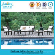 Дешевые садовая мебель Плетеный диван и стулья для патио для продажи