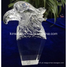 2016 Figurines Eagle, Águia De Cristal para Presentes de Decoração para Casa