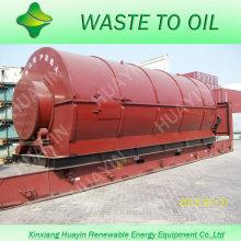 XinXiang HuaYin Famosa Marca 5/8/10/12 Ton Waste / Usado Plástico Reciclar Planta Para Venda