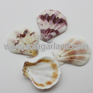 28-36MM Mixed Natural Shell Decor Beads Loose Seashell Beads