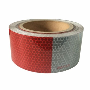 Red And White DOT Reflective Tape Wholesale Manufacturer