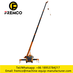 Tire Type Car Crane For 10 Ton