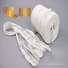 high quality of cabled pp yarn, white cabled yarn