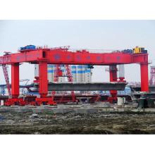 100ton Mobile Strddle Carrier com SGS