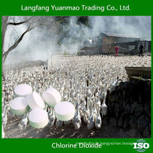 Chlordioxid als Geflügel Ausrüstung Desinfizieren Antivirus Chemikalien für Vieh und Geflügel