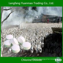 Dióxido de cloro como avícola Desinfectar Antivirus Químico para ganado y aves de corral