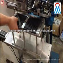 Machine de tufting de brosse de champ de neige de production de 2 axes de haute production