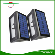 New 50 LED Solar Lights Waterproof LED Garden Outdoor Yard Street Light PIR Motion Sensor Solar Panel Wall Lamp with Replaceable Battery