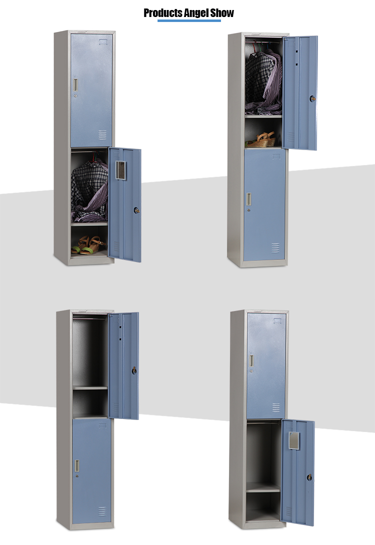 Steel 2 Tier Clothing Locker