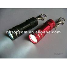 3 LED Schlüsselanhänger Taschenlampe