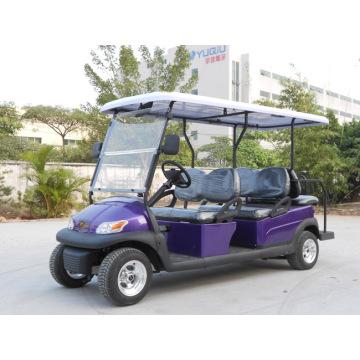 CE одобрил 6 местный электрическая тележка гольфа для туристов