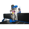 Water cooled atc spindle dust cover cnc router 3000x2000 from BLUE ELEPHANT