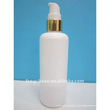 250ml weiße kosmetische Verpackung Hautpflege Acryl Lotion Pumpe Flasche Design