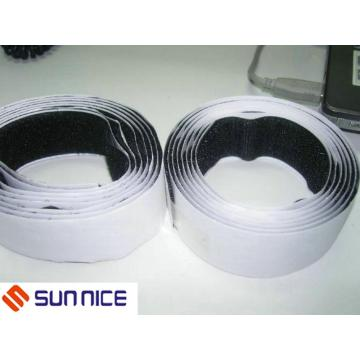 Black and White Adhesive Magic Straps