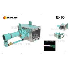 La hornilla de la calefacción de aire (E-10) se puede utilizar para pintar el secado del pretratamiento