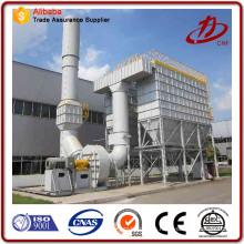 Proceso de eliminación de gases ácidos filtro de harina de polvo