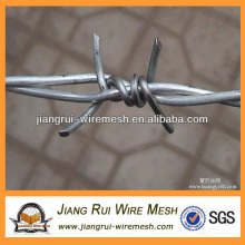 Galvanizado dupla torção arame farpado (fabricante da China)