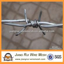 Оцинкованная двойная твист-колючая проволока (Китай производитель)