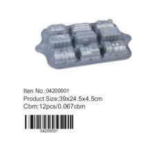 Bandeja do queque de alumínio