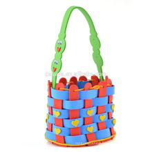handmade diy basket foam eva handicraft for kids funny