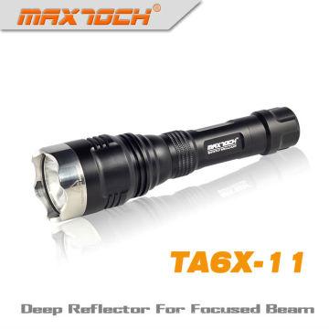 Maxtoch TA6X-11 Cree XM-L T6 LED 1000 Lumens mejor linterna táctica