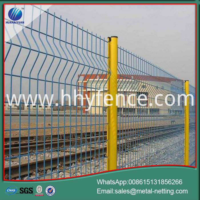weldede wire fence