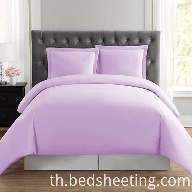 Lilac Organic Cotton Queen Quilt Cover