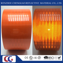 High Visibility Orange Reflective Tape in Roll Size 15cm Width X 45 Meter