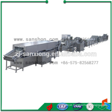 Vegetables and fruits freezing production line