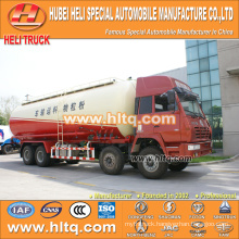 dry bulk cement tanker truck SHACMAN AOLONG 8x4 36M3 shock price professional production