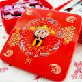 Chinês caixa de doces de casamento de presente de chocolate festivo atacado de plástico