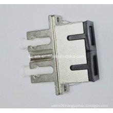 Sc-LC Duplex Hybrid Metal Housing Fiber Optic Adapter