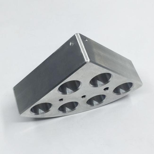 aluminum component machining