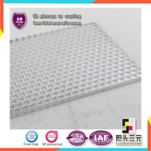 Eco-Friendly Plastic Diamond Plate Sheets for Skylighht/Sunshades/Ceiling