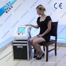 Q включенный и выключенный лазерный луч для устранения татуировок