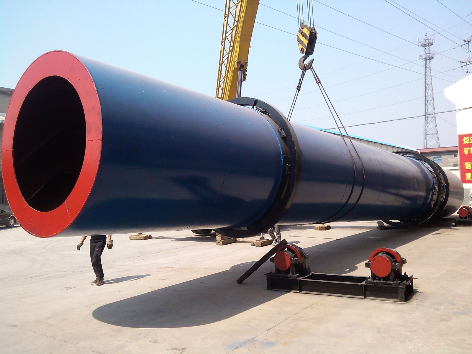 forage rotary dryer machine