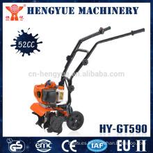 HY-GT590 mini cultivador/sierpe de rotary cultivador jardín herramienta