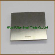 China Explemente Alta Qualidade Ti Gr. 4 folha de liga de titânio / placa