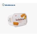 16 oz envase de mantequilla de envasado de alimentos lácteos de plástico