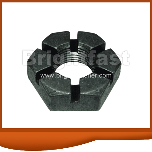 China Din937 Hex Slotted Thin Nuts M6 M52 Manufacturers