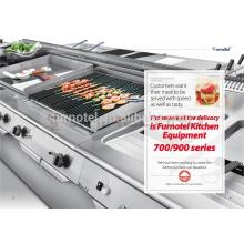 Commercial 700/900 Serie Elektro / Gas Lava Rock Grill